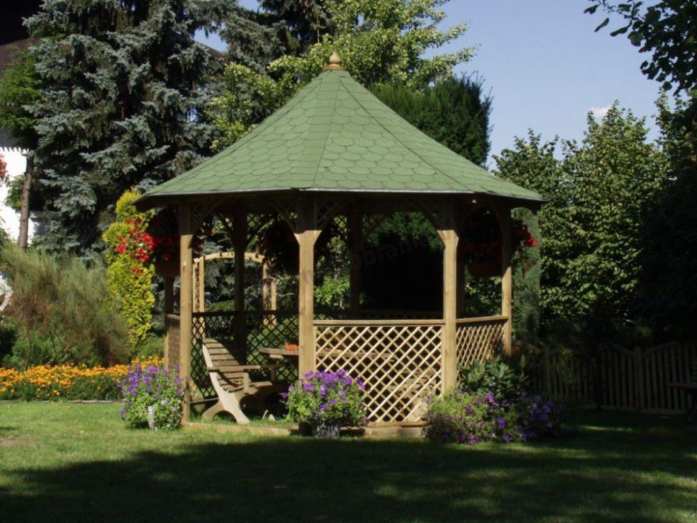 altanka aranżacja ogrodu