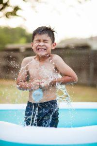 basen ogrodowy dla dziecka