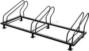 stojak rowerowy z metalu 3 miejsca
