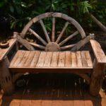 Meble rustykalne w ogrodzie