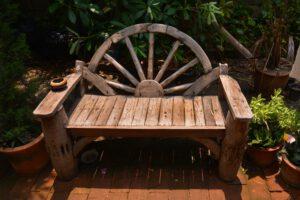 meble rustykalne krzesło