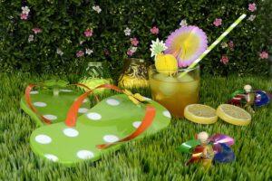 przyjęcie plenerowe w ogrodzie
