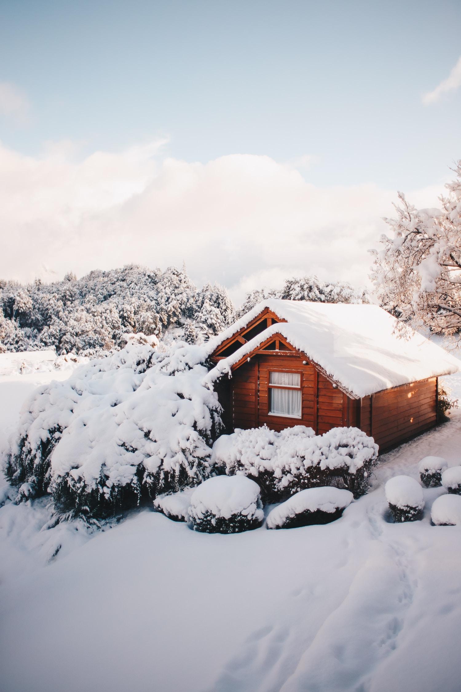 zima w ogrodzie meble zimowe
