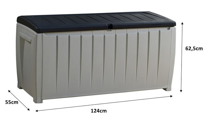 Keter Novel Storage Box - Wymiary