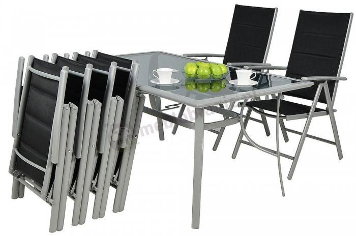 Zestaw Mebli Ogrodowych Aluminiowych Fenku : Zestaw mebli aluminiowych ogrodowych