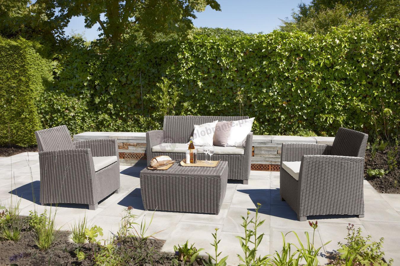 meble ogrodowe corona box producent curver allibert. Black Bedroom Furniture Sets. Home Design Ideas