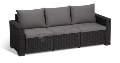 Sofa California 3 grafit