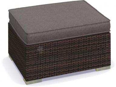 Pufa technorattan NILAMITO Brown & Grey