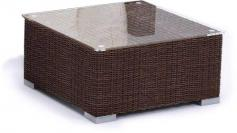 Stolik z technorattanu LIGURITO 70x70 Brown Elite