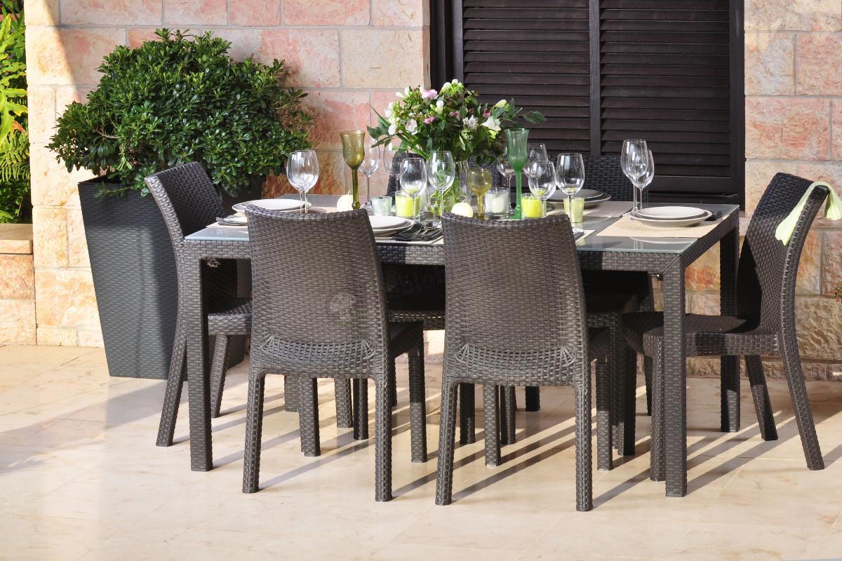 Meble Ogrodowe Rattan Sklep Internetowy : Krzesło Rattan Style Toscana  Krzesła i fotele  sklep internetowy