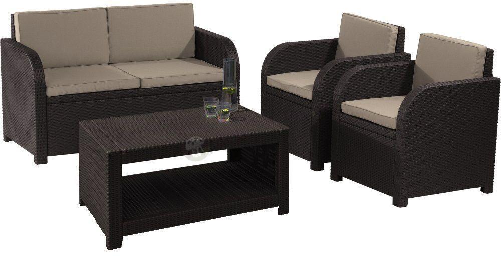 Zestaw ogrodowy Modena Lounge Set  Meble Ogrodowe
