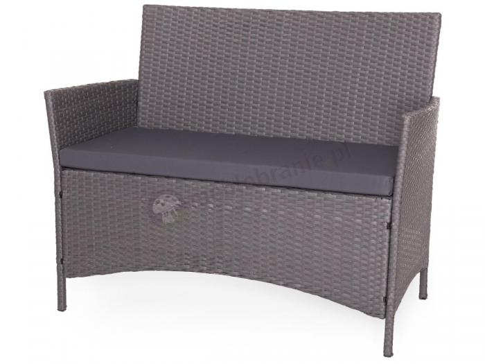 Sofa z zestawu Trimante Grey & Grey