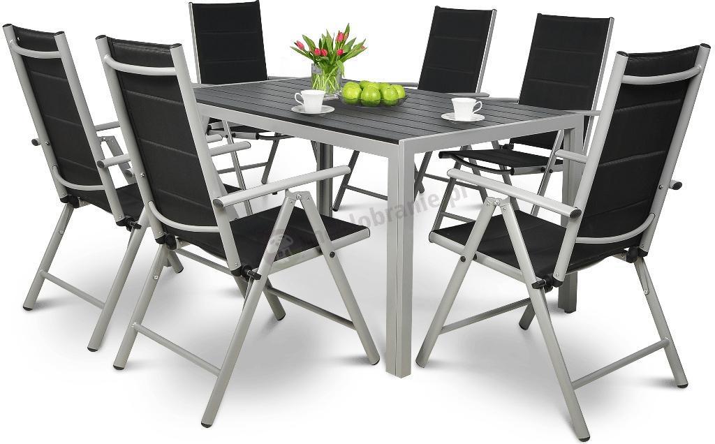 Zaktualizowano Sydney Silver zestaw ogrodowy aluminiowy - Meble Ogrodowe NB62