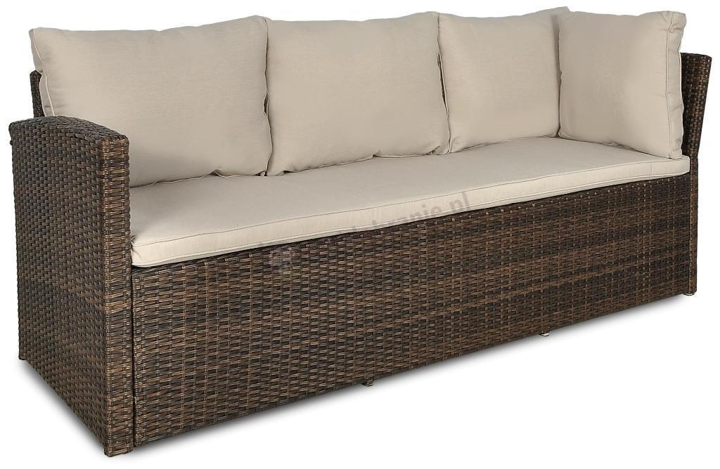 Sofa z zestawu CAPRICE Brown