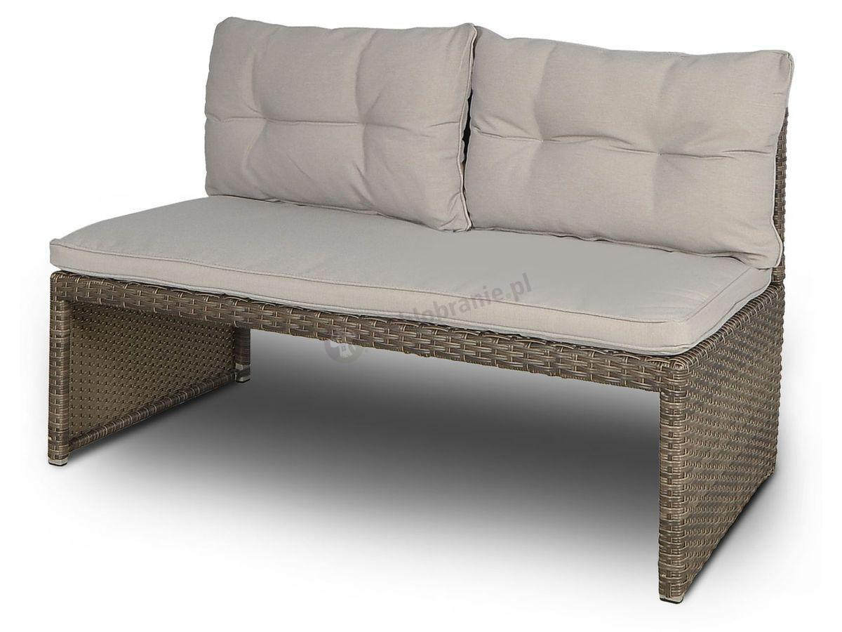 Sofa Canvas technorattan Caffe