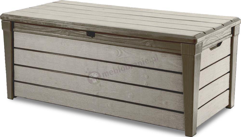 Skrzynia Ogrodowa Keter Brushwood Storage Box 455l Jasno Szara