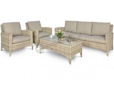 Cannes Beige meble z technorattanu