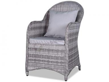 Fotel technorattan ALTITO Dim Grey & Taupe
