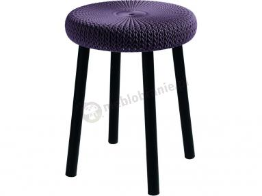 Taboret do kuchni Keter Cozy Stool purpurowy