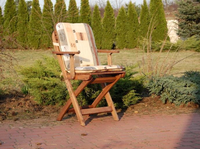 Poduszki Na Meble Ogrodowe Sklep Internetowy : Zestaw balkonowy Warszawa Bis (stół + 2 krzesła z podłokietnikami)