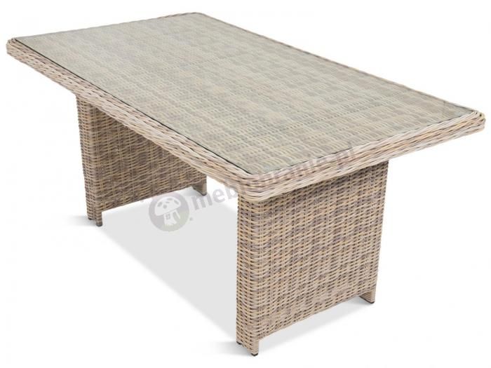 Camino Dining Beige meble z technorattanu