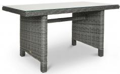 Technorattan meble Trivento Dining 3 Dark Grey