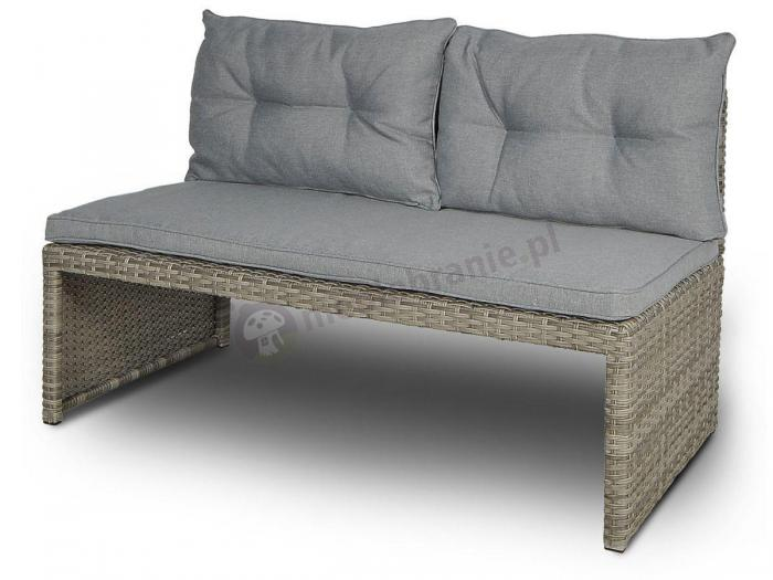 Sofa Canvas technorattan Dolphin Grey