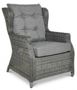 Trivento 3 Dark Grey (sofa 3-osobowa) meble technorattanowe - fotel