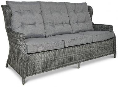 Trivento 3 Dark Grey (sofa 3-osobowa) meble technorattanowe - sofa