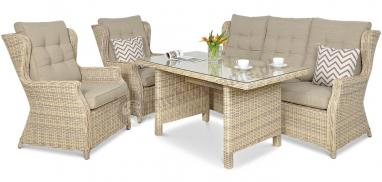 Meble technorattan Trivento Dining 3 Beige