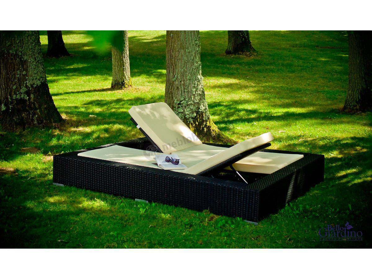 łóżko Ogrodowe Z Technorattanu Umile