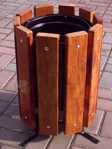 Młodzieńczy Kosz na śmieci stojący - Kosze na śmieci zewnętrzne - sklep DI94