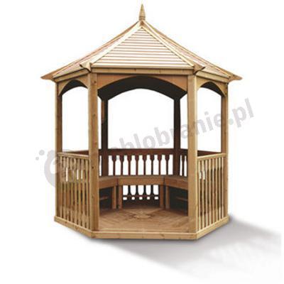 Altana gazebo appleton altanki ogrodowe sklep internetowy for Pavillon en bois pour jardin