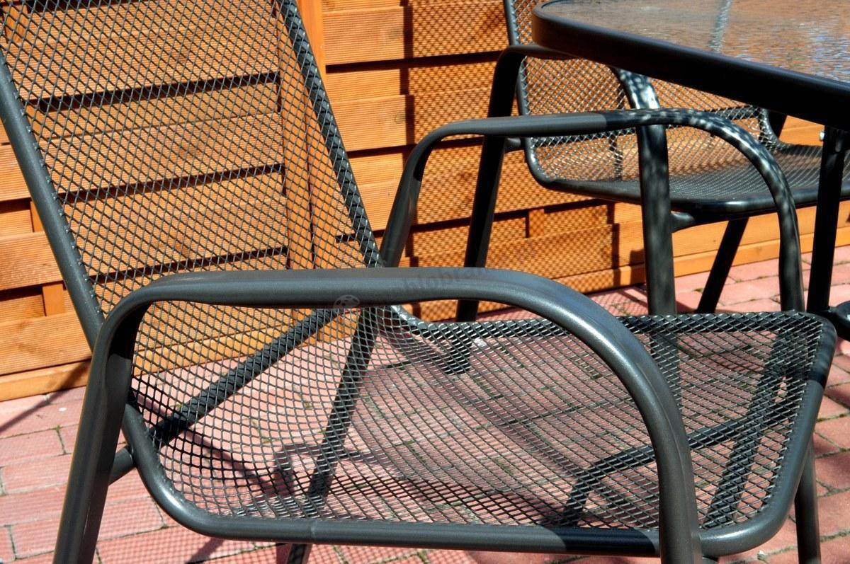 Meble Ogrodowe Z Siatki Metalowej : Krzesło metalowe Antonio  Krzesła i fotele  sklep internetowy
