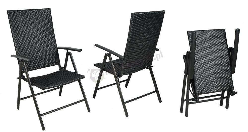 Aluminiowy zestaw ogrodowy Rettangolo 150×90 (6 krzeseł)