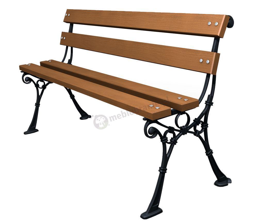 Meble Ogrodowe Piła Sklep Internetowy : Mała ławka ogrodowa wykonana jest z drewna sosnowego, które